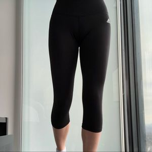 Knee-length Adidas Workout Tights